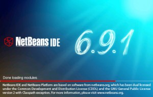 Netbeans IDE 6.9.1 Splash Screen